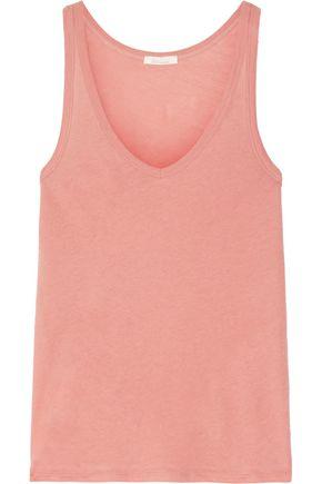 SKIN Organic Pima cotton-jersey pajama top