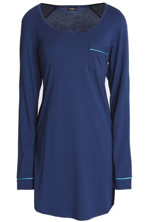 COSABELLA Cotton and modal-blend nightshirt