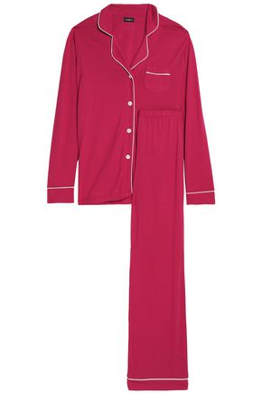 COSABELLA Cotton and modal-blend pajama set