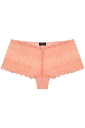 COSABELLA Mid-rise lace and jersey briefs