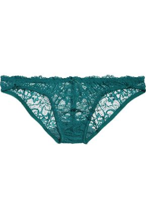 DEBORAH MARQUIT Low-rise lace briefs