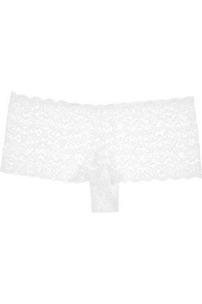HANRO Moments Maxi stretch-lace briefs