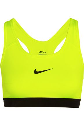 NIKE Pro Classic Dri-FIT stretch-jersey sports bra