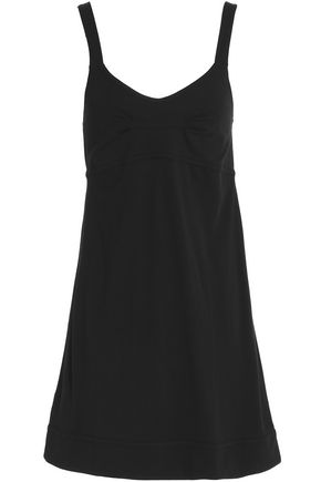 SKIN Cotton-jersey mini dress