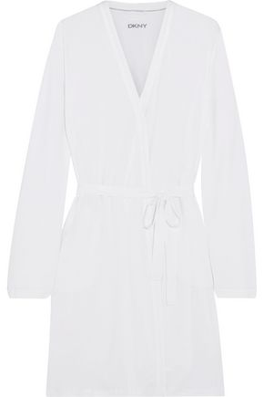 DKNY Belted cotton robe