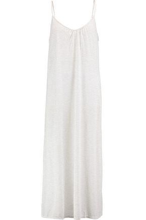 EBERJEY Love Letters striped modal-blend jersey nightdress