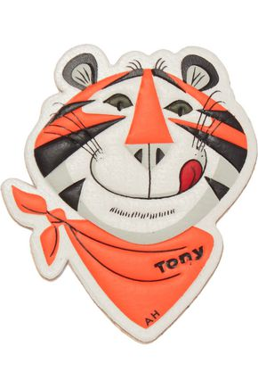 ANYA HINDMARCH Frosties leather sticker