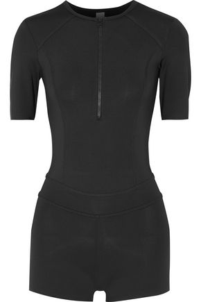 ADIDAS by STELLA McCARTNEY Stu open-back stretch playsuit