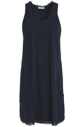 SKIN Cotton-jersey mini dress