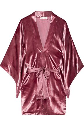 LE FLEUR DU MAL Velvet kimono