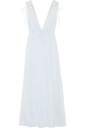 THREE GRACES LONDON Octavia cotton-voile nightdress