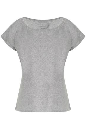 CALVIN KLEIN Stretch cotton and modal-blend jersey pajama top