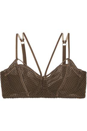 LONELY Gigi flocked stretch-tulle underwired bra