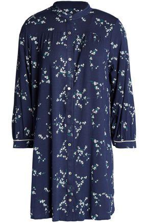 EBERJEY Floral-print stretch-modal nightshirt