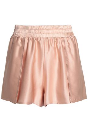 ALIX Silk-satin pajama shorts