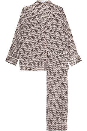 EQUIPMENT Printed silk pajama set