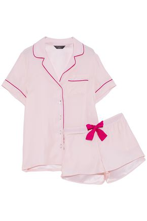 THREE J NYC Silk-satin pajama set