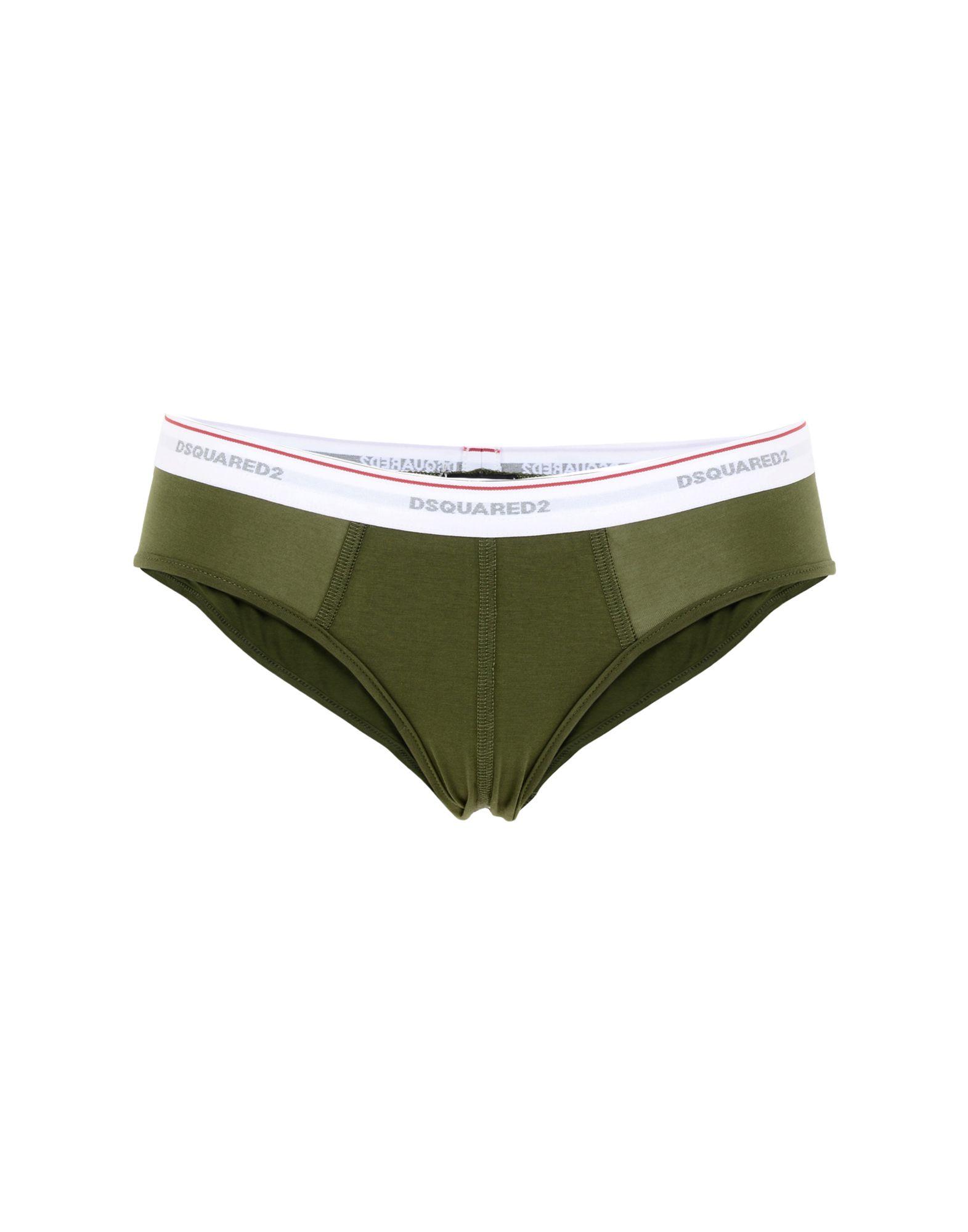 DSQUARED2 Damen Slip Farbe Militärgrün Größe 2