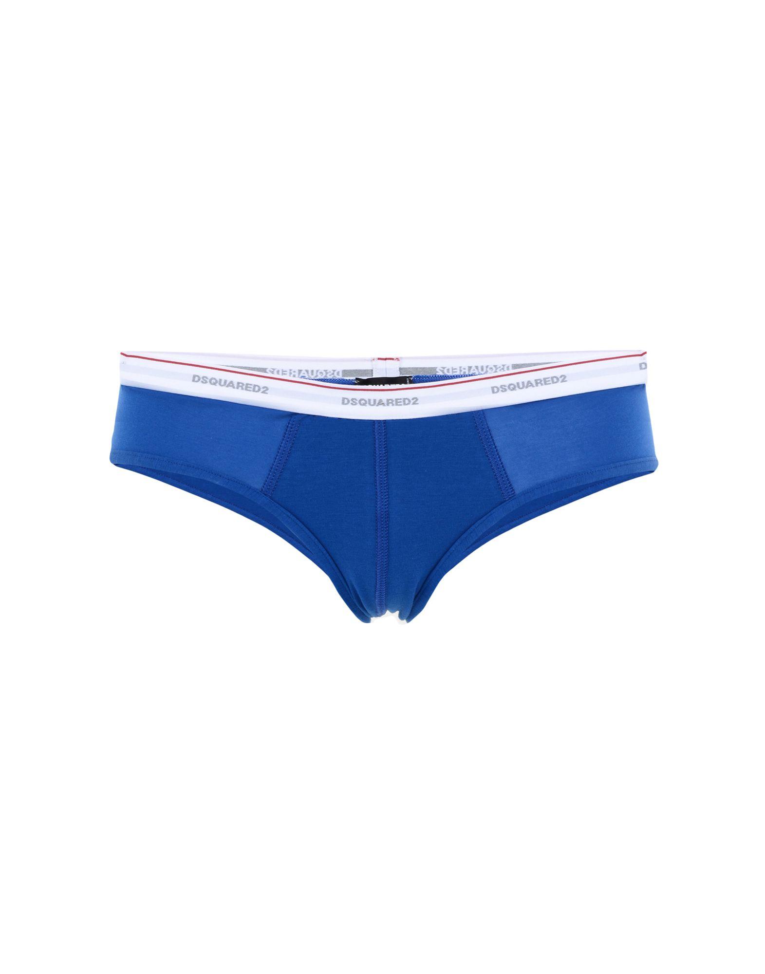 DSQUARED2 Damen Slip Farbe Blau Größe 2