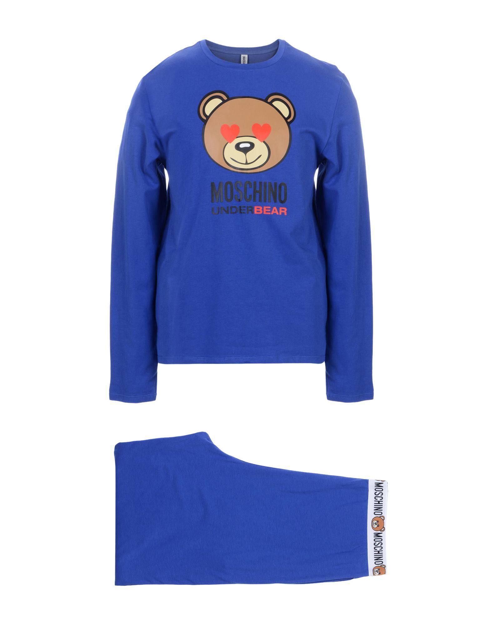 MOSCHINO UNDERWEAR Sleepwear in Blue