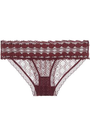STELLA McCARTNEY Low-rise lace briefs