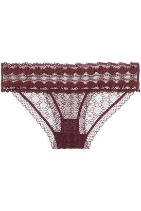 STELLA McCARTNEY Jasmine Inspiring lace low-rise briefs