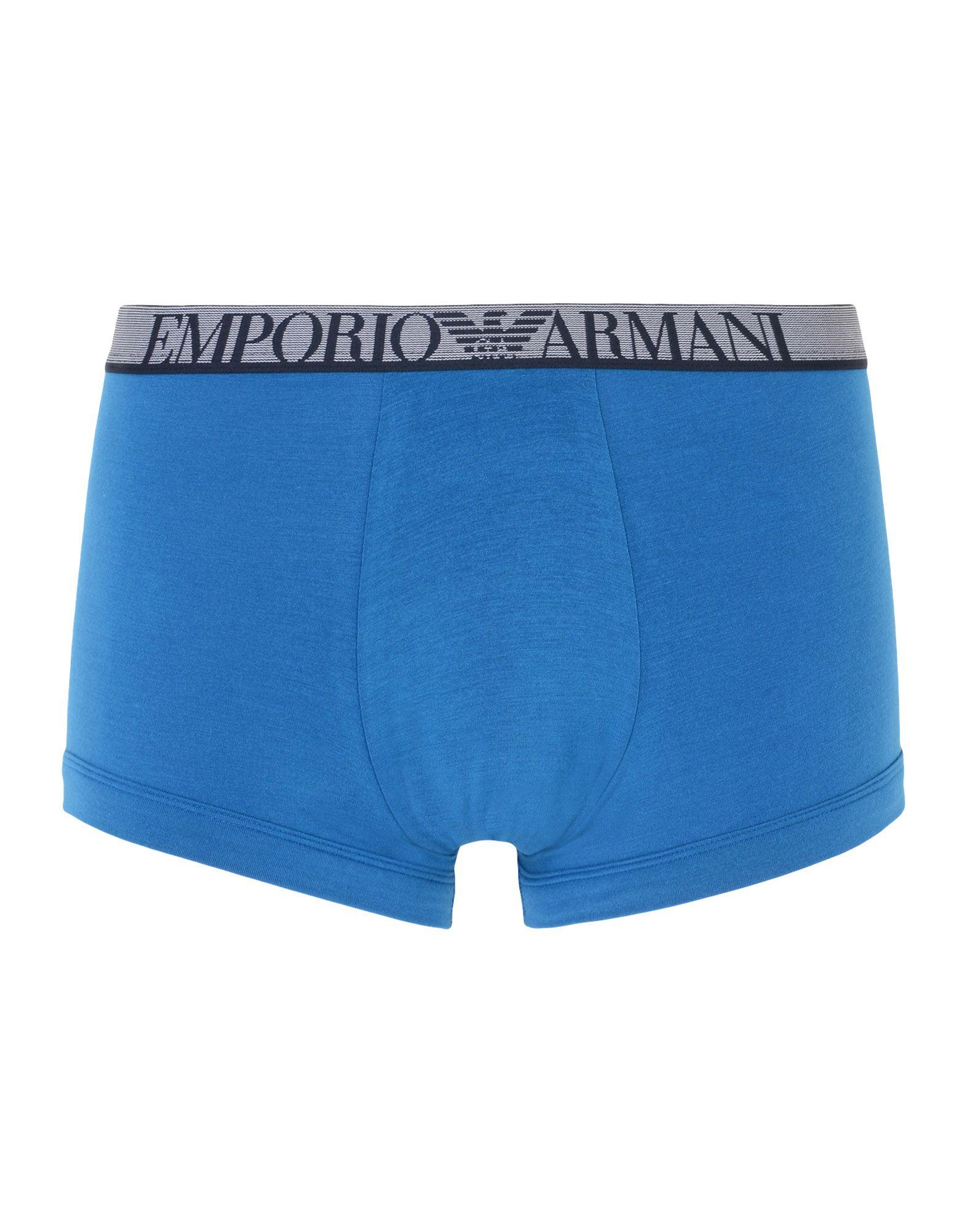 メンズ エンポリオ アルマーニ トランクス ブルー