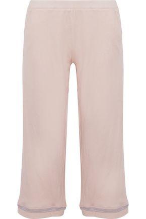 SKIN Cropped Pima cotton-jersey pajama pants