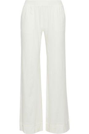 SKIN Cotton-jersey pajama pants