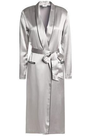 FLEUR DU MAL Silk-satin robe
