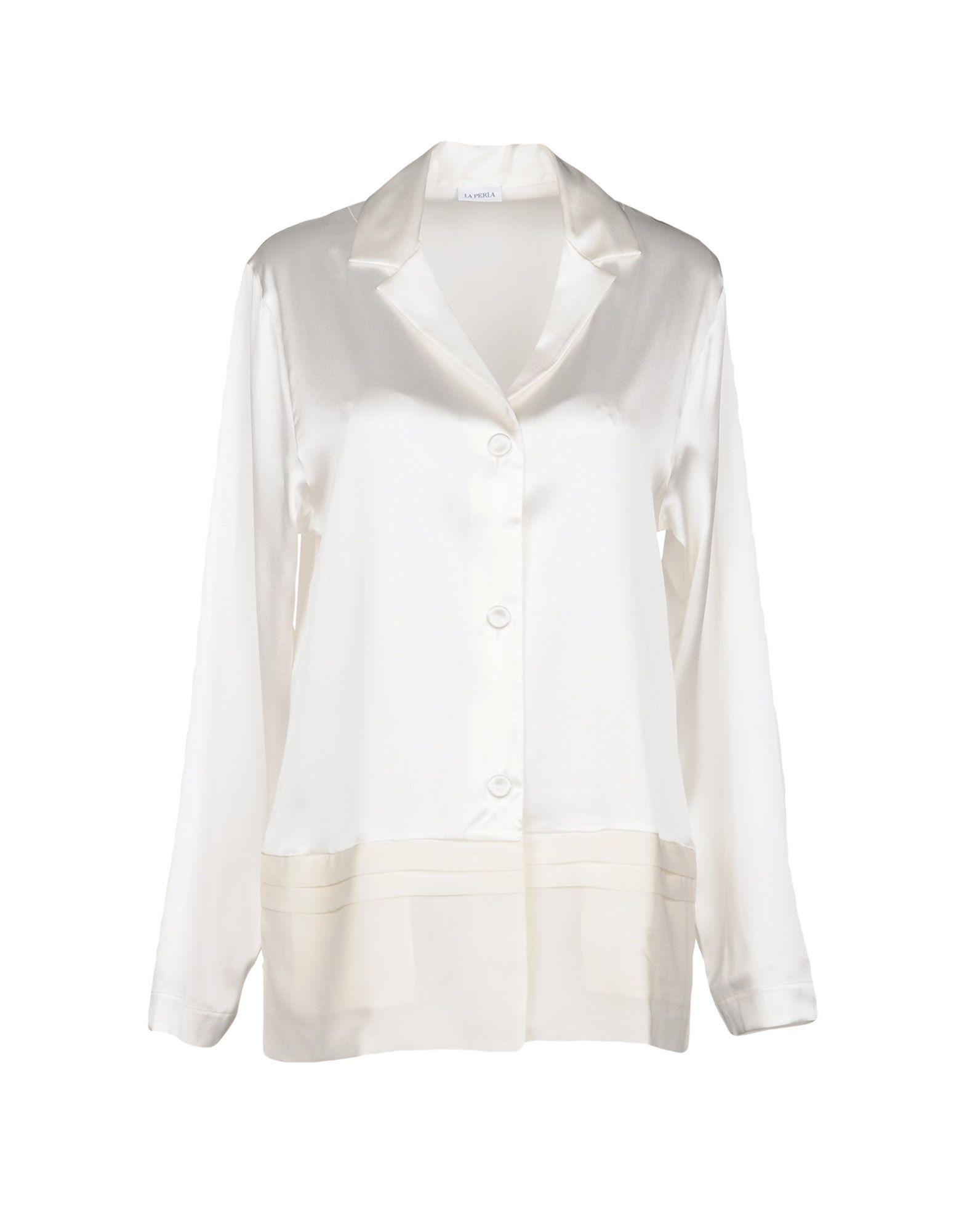 LA PERLA Ночная рубашка рубашка ночная с макраме