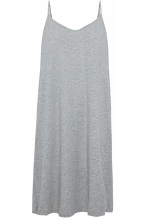 SKIN Pima cotton-jersey nightdress
