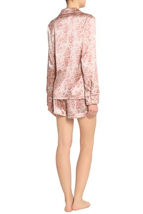... STELLA McCARTNEY Poppy Snoozing leopard-print silk-blend satin pajama  set b20a60f12