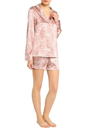 ... STELLA McCARTNEY Poppy Snoozing leopard-print silk-blend satin pajama  set ... 519c5d2a1