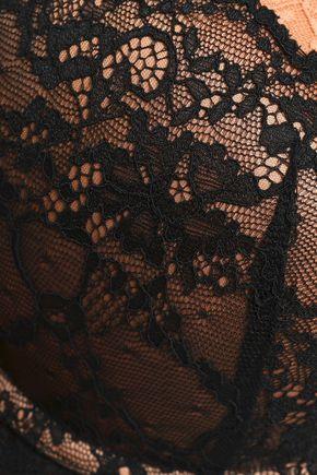 HEIDI KLUM INTIMATES Masquerade Muse layered lace push-up bra