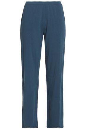 SKIN Cotton-blend jersey pajama pants