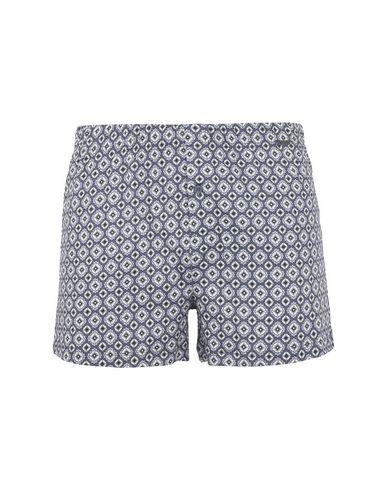 HANRO メンズ トランクス グレー S コットン 100% style pantaloncini