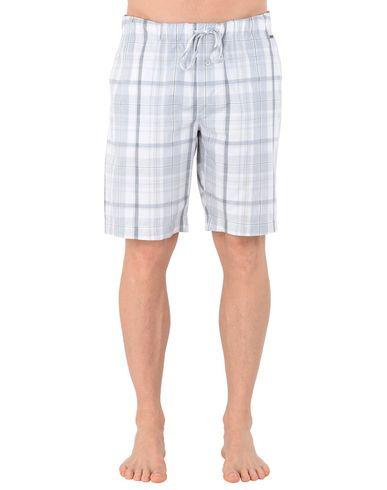 HANRO メンズ パジャマ グレー S コットン 100% SHORT PANT