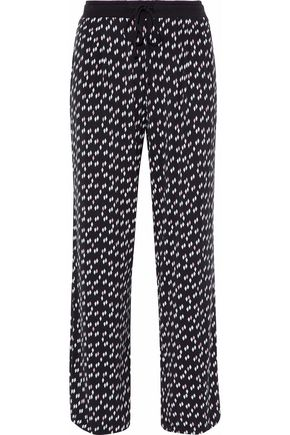 DKNY Printed stretch modal-jersey pajama pants
