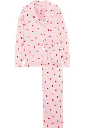 DKNY Printed satin pajama set