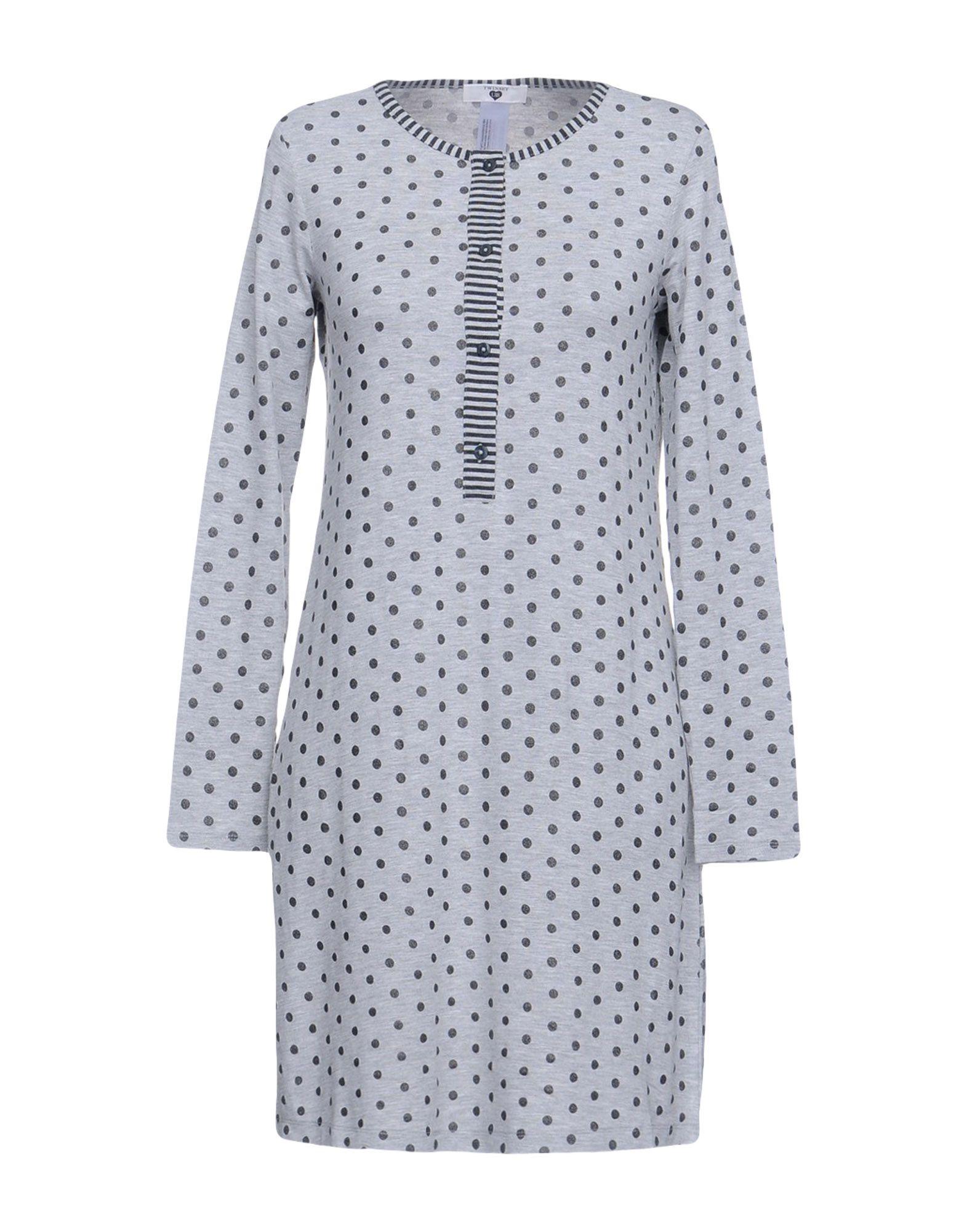 TWIN-SET Simona Barbieri Ночная рубашка checker knot bikini set