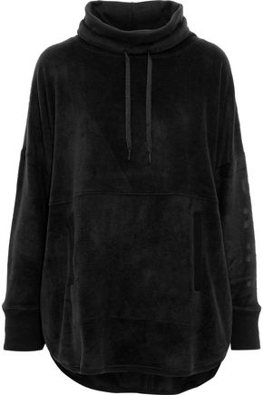 DKNY Fleece hooded pajama top