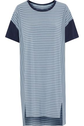 DKNY Striped modal-blend jersey nightshirt