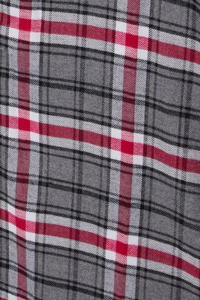 DKNY Checked flannel nightdress
