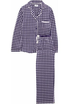 DKNY Prnted flannel pajama set