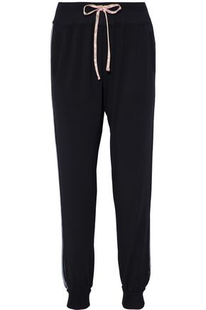 DKNY Striped modal-blend pajama pants
