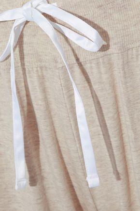 DKNY Striped modal-blend pajama pants