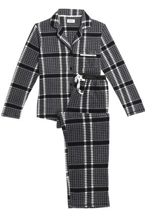 DKNY Checked flannel pajama set