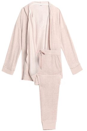 DKNY Hooded flannel pajama set