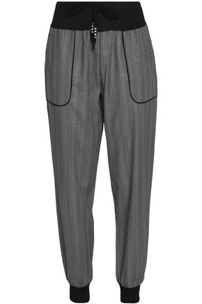 DKNY Herringbone stretch-jersey pajama pants